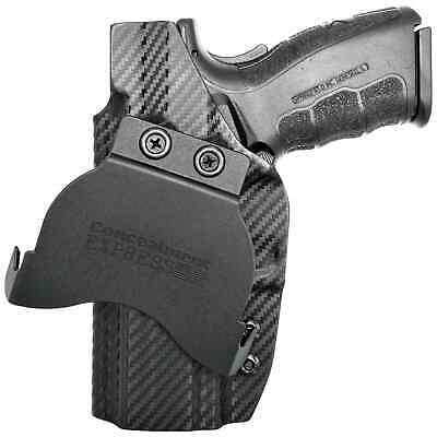 "Concealment Express Springfield XD 4.0"" Full Size Service Model OWB KYDEX Paddle"