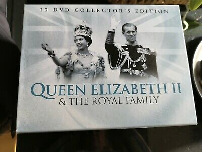 10 DVD Collection Edition Queen Elizabeth II & The Royal Family New condition