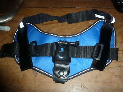 Adjustable Dog Fetch Harness Chest Strap Mount For GoPro Hero 4S 3 4
