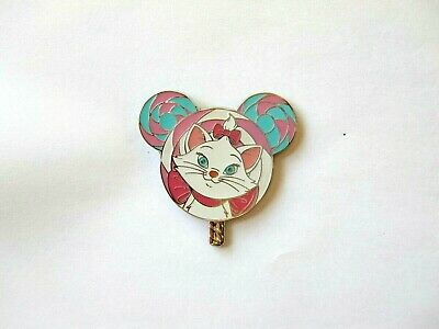 Disney Pin - HKDL - 2017 Lollipop Mystery Tin Collection –Marie only