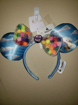 NEW Disney Parks Exclusive From Movie UP Minnie Mouse Ears Headband Grape Soda