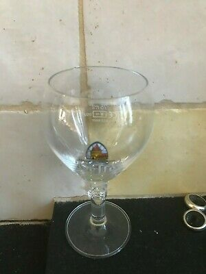 Leffe proef glas petit verre beer glass tasting 75 ml  2016