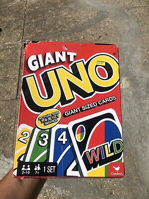Giant UNO Playing Cards Jumbo Big Large Huge Family Games Instructions Included