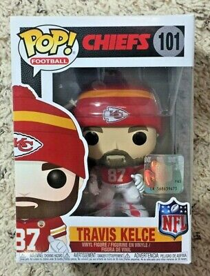 Funko POP! Travis Kelce NFL KC Chiefs #101 Vaulted Retired Kansas City Football