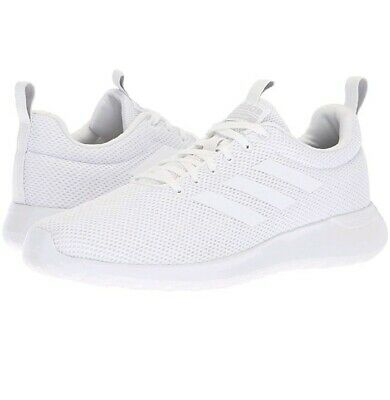 Lite Racer CLN Adidas shoes, White Adidas Shoes 10.5, B96568, White Casual Shoes