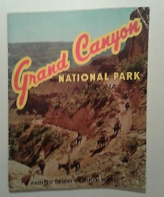 Grand Canyon National Park Arizona Painted Desert Petrified Forest Book 1958