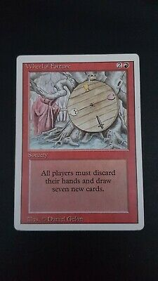 MtG-Wheel of Fortune-REVISED- Edition Near mint condition.