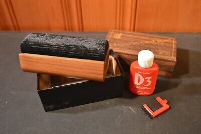 Vintage Discwasher Vinyl Record Cleaning Kit Cleaner Pad Solution Fluid Full