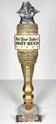 """Not Your Father's Root Beer Small Town Brewery Beer Tap Handle 13"""" Tall - Nice!"""