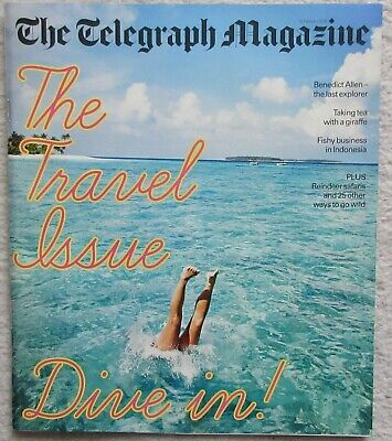 Special Travel Issue - Telegraph magazine – 10 February 2018