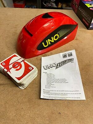 Uno Extreme Electronic Card Game Dispenser Launcher with UNO Extreme Cards 2010