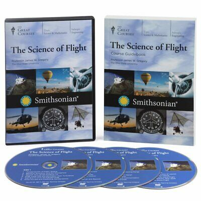 Teaching Company Great Courses The Science of Flight James Grgeory 4 DVD Set