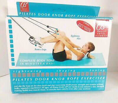 Pilates Door Knob Exerciser Bally Total Fitness Stretch and Toning
