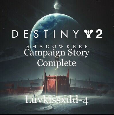 Destiny 2 Shadowkeep Campaign Story Complete +Leveling(PS4/XB1/PC)