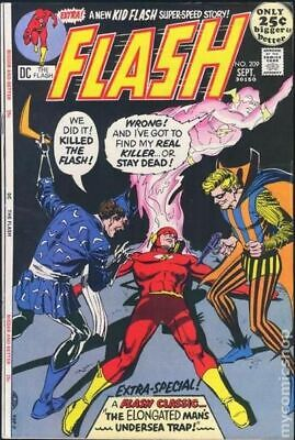 Flash #239 VG 4.0 1976 Stock Image Low Grade