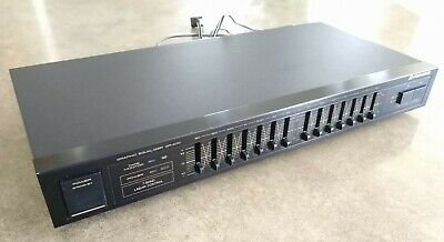 Pioneer Graphic Equalizer GR-470 7-Band Linear Control black tested