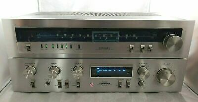 Pioneer SA-710 Receiver Amplifier And TX-610 AM / FM Stereo Tuner VTG From Japan