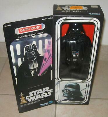 1977 Kenner Star Wars Darth Vader Large Size Action Figure Mint In Clean Box !!