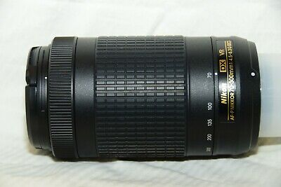 Nikon AF-P DX VR 70-300mm Lens in Near New Condition
