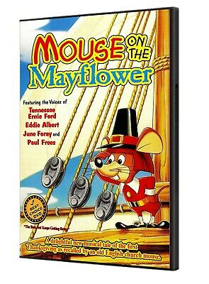 Mouse on The Mayflower 1968 DVDr