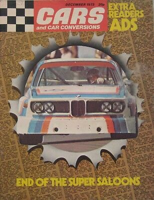 Cars & Car Conversions magazine December 1973
