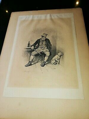 Frederick Barnard Print/Picture Bill Sykes, Oliver Twist, Charles Dickens