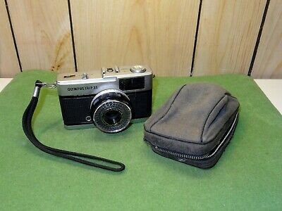 Superb Vintage Olympus Trip 35 Film Camera With Case - All Appears Working!!