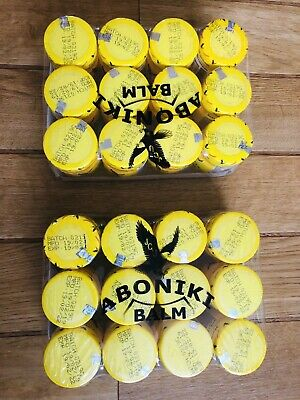 24 Pcs Aboniki Balm for pain, aches, backaches, cold -25g- (PACK Of 12 x 2)