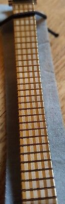 APOLLO YELLOW METAL ADJUSTABLE WATCH STRAP BAND 10mm to 14mm