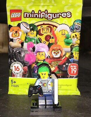 LEGO Minifigures Series 19 Video Game Competition Champ Minifigure 71025