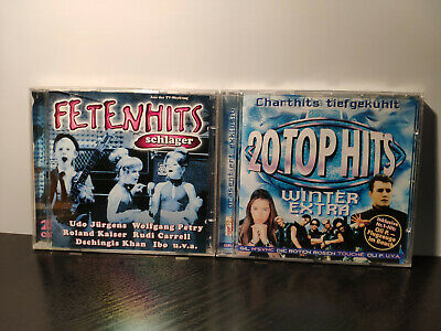 3×CDs Various ‎– Fetenhits Schlager & 20 Top Hits (Winter Extra 1998)