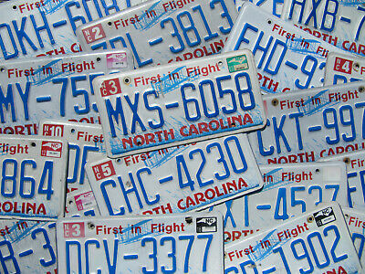 North Carolina First in Flight License Plate NC Aviation Airplane -Pick Your Tag
