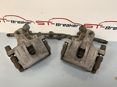 Genuine Ford Focus ST ST225 Pair Of Rear Brake Calipers, Carriers & Hoses - Used