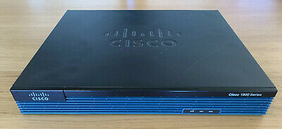 Cisco 1921 K9 Integrated Services Router