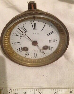 French Clock Movement Japy Freres For Spares Or Repair
