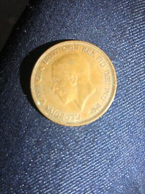 1911-1936 One Penny Coin - George V.