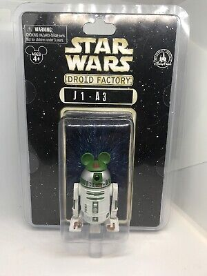 Disney Star Wars  J1-A3 Droid Factory Action Figure Disneyland