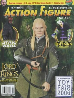 Tomart's Action Figure Digest #142 FN 2006 Stock Image