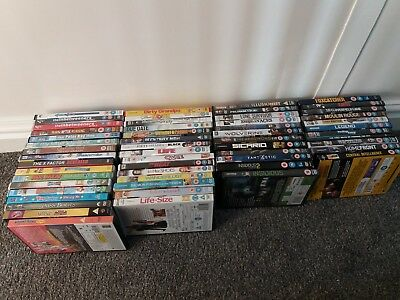 Greatly Reduced !! Bulk Buy ! 55 Dvd's Various Genre