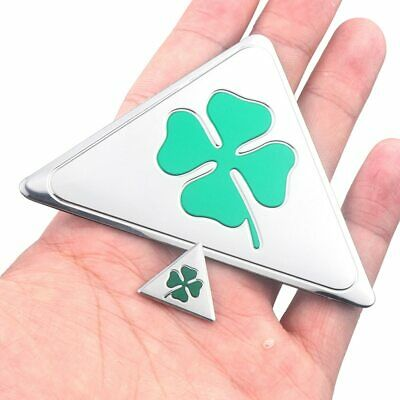 Cloverleaf Quadrifoglio Verde Side Emblem Sticker for Alfa Romeo