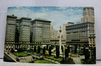 California CA San Francisco St Francis Hotel Union Square Postcard Old Vintage