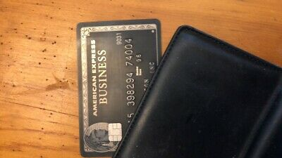 American Express Centurion Card - (Black Card) Accumulated over 6MM Points