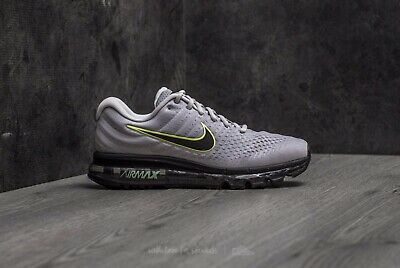 Nike Air Max 2017 Wolf Grey Black Pure Platinum Men's Size 14 NIB