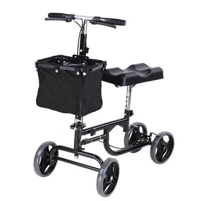 Knee Walker Scooter Wheelchair Foldable Steerable Mobility Alternative Crutches