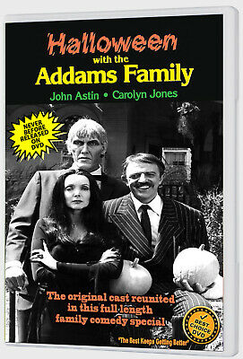 Halloween With The New Addams Family (1977) Dvd John Astin, Carolyn Jones