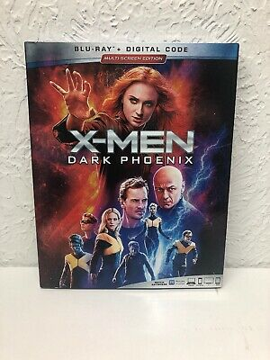 X-Men Dark Phoenix Blu Ray + Digital Brand New Sealed!! Authentic U.S. Release
