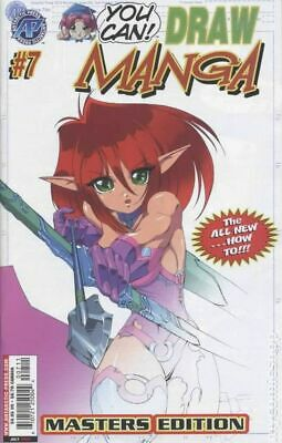 You Can Draw Manga #7 VG 2004 Stock Image Low Grade