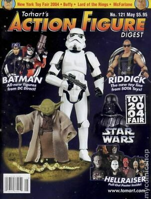 Tomart's Action Figure Digest #121 FN 2004 Stock Image