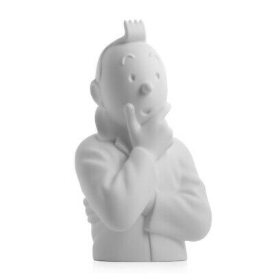 Tintin - Tintin thinking matt bust Figure - Moulinsart limited edition