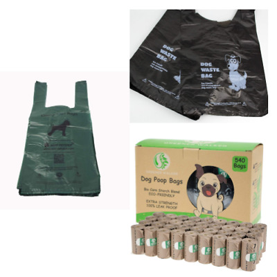 Biodegradable Dog Poo Bags Strong Large Pet Waste Eco Friendly Plastic Bulk Pack